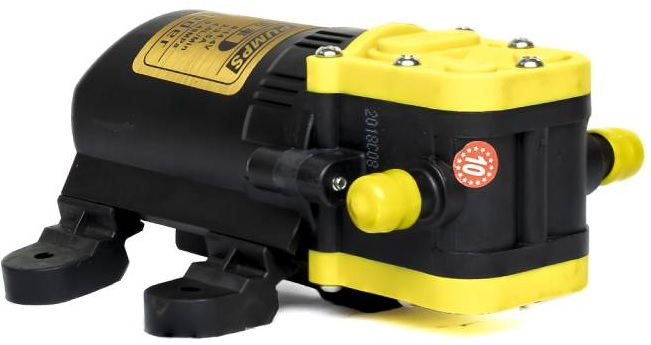 may bom nuoc mini ap luc xld pumps 12v 42w 4l