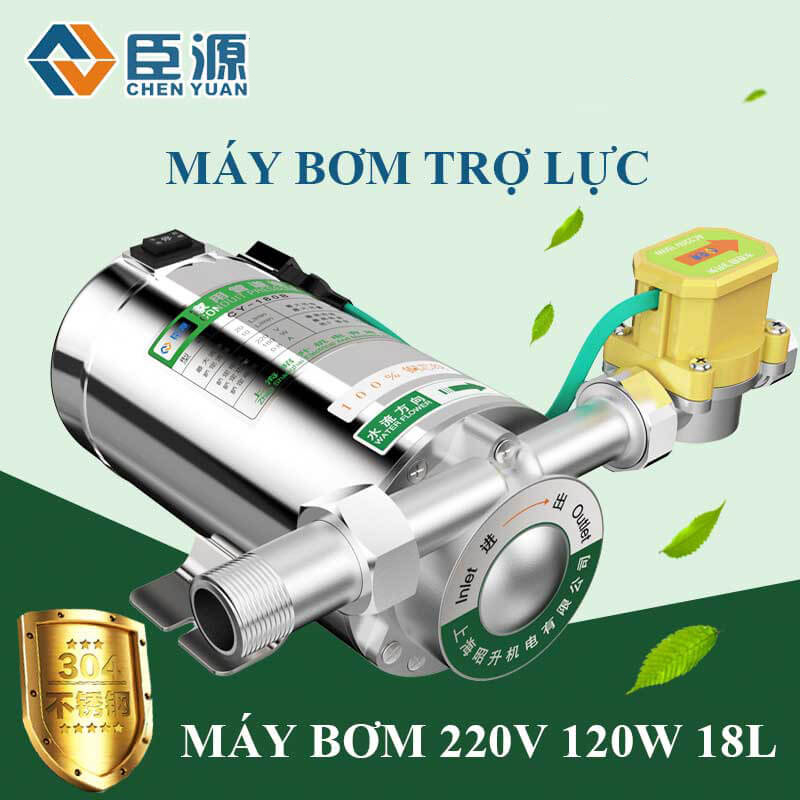 may bom tro luc nuoc nong