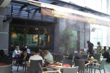 Lắp đặt hệ thống phun sương cho quán cafe cần những gì?