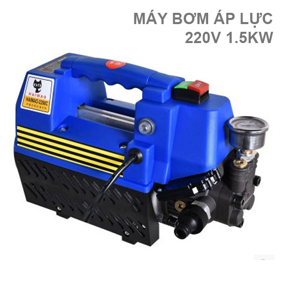 Máy xịt rửa áp lực cao HEIMAO QL-288 220V 1.5KW