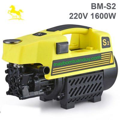 Máy bơm xịt rửa áp lực cao 220V 1.5KW BM-S2
