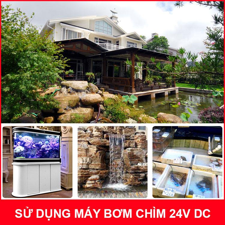 may bom chim sunsun jdp 3500 danh cho san vuon
