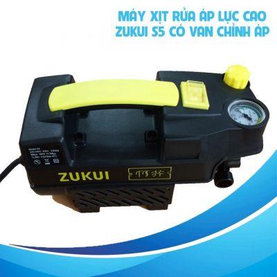 Máy Bơm Xịt Rửa Áp Lực Cao Có Chỉnh Áp 220V 2400W ZUKUI S5