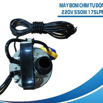 Máy Bơm Chìm Tự Động QSP 220V 550W 175L/P