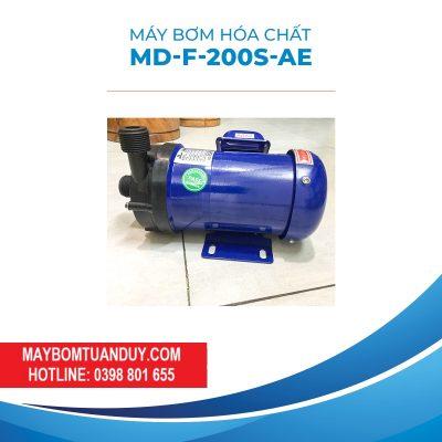 Máy Bơm Hóa Chất MD-F-200S-AE 220V 6W 11L/P