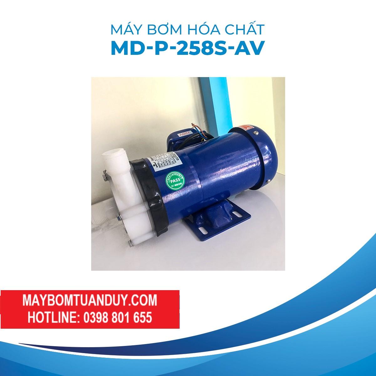 Máy Bơm Hóa ChấtMD-P-258S-AV 220V 260W 135L/P