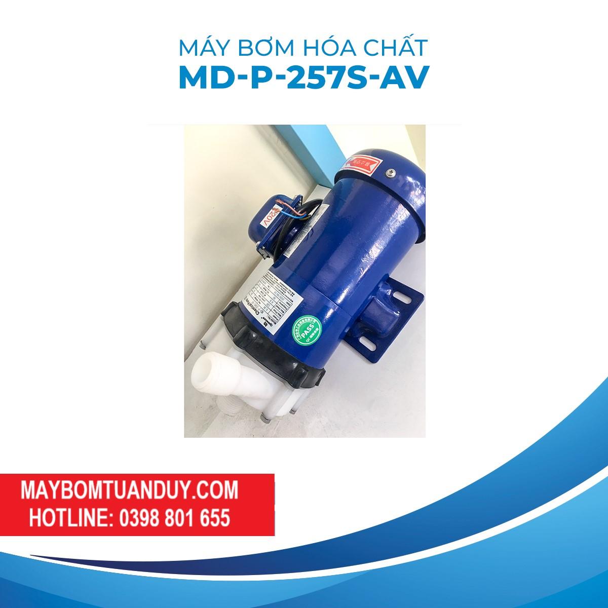 Máy Bơm Hóa ChấtMD-P-257S-AV 220V 180W 86L/P