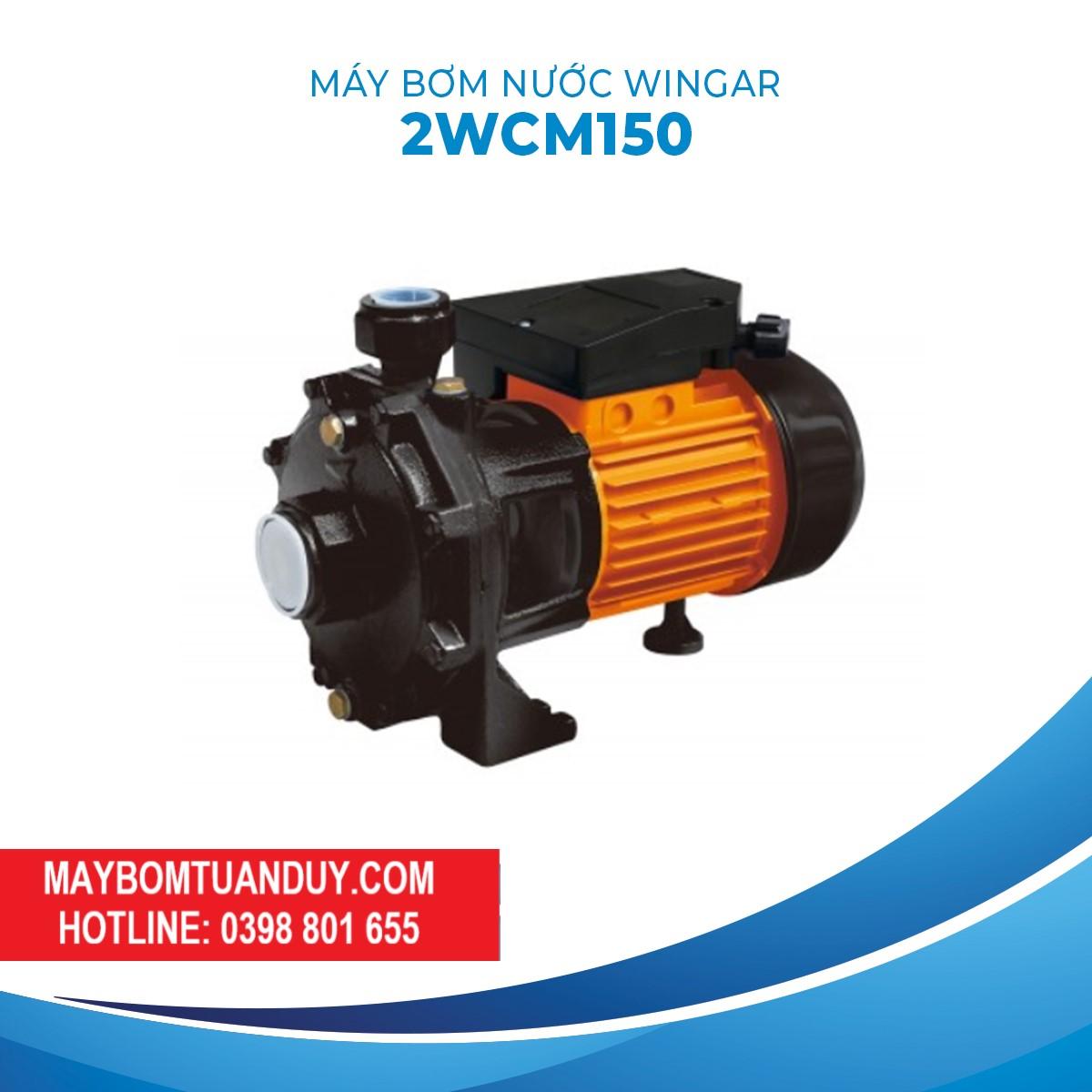 Máy Bơm Nước Wingar- 2WCM150B20V 2HP 140L/P