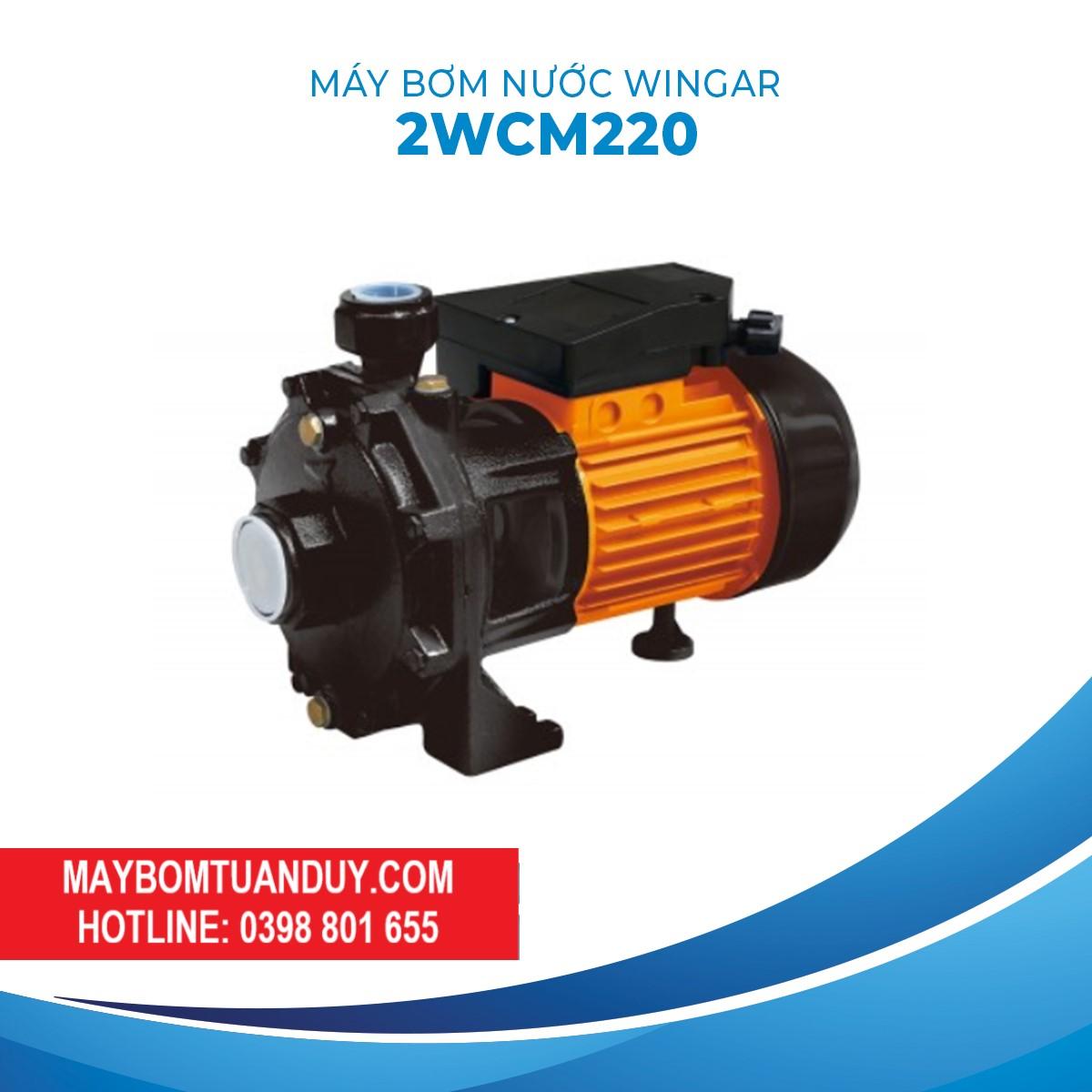 Máy Bơm Nước Wingar- 2WCM220B 220V 3HP 160L/P