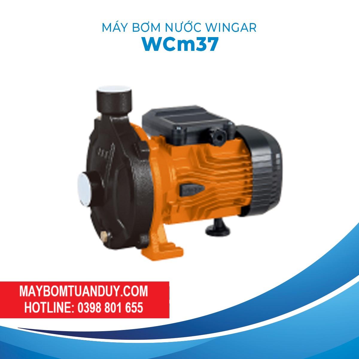 Máy Bơm Nước Wingar WCM37 220V 0.5HP 80L/P