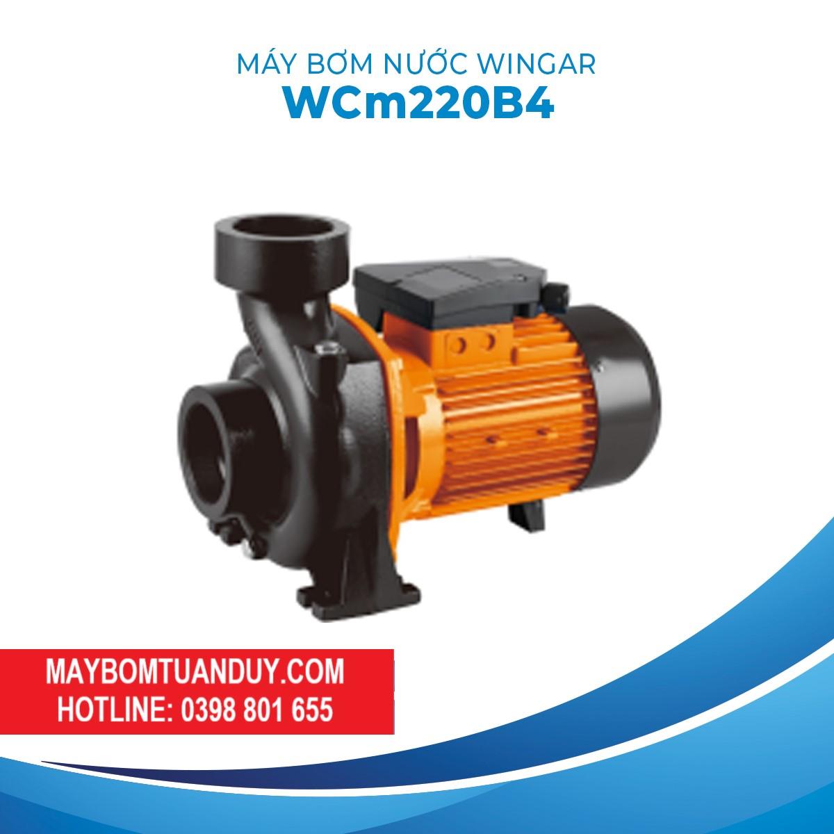 Máy Bơm Nước Wingar WCM220B4 220V 3HP 1100L/P