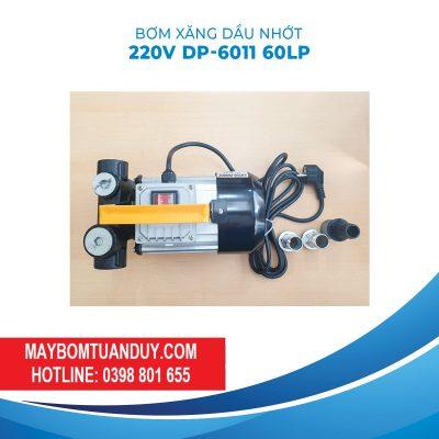 Máy Bơm Xăng Dầu Nhớt 220V 550W 60LP