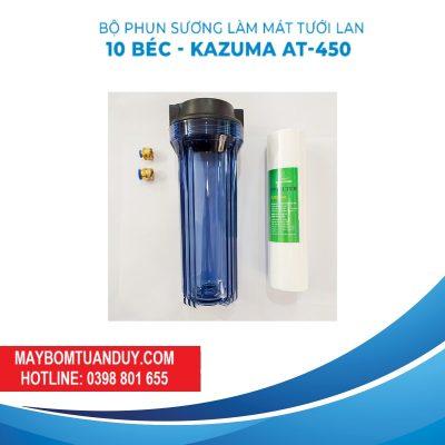 Trọn Bộ Phun Sương Làm Mát Tưới Lan 10 Béc- Kazuma At-450