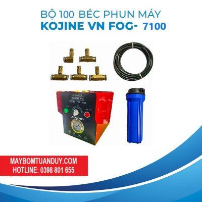 Trọn Bộ Phun Sương 100 Béc KJ- FOG 7100