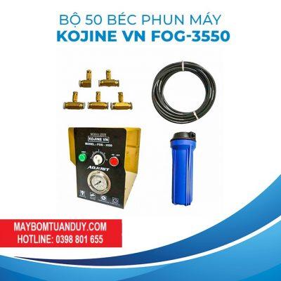 Trọn Bộ Phun Sương 50 Béc KJ- FOG 3050