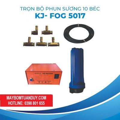 Trọn Bộ Phun Sương 10 Béc KJ- FOG 5017
